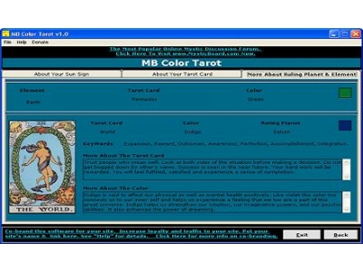 MB Color Tarot