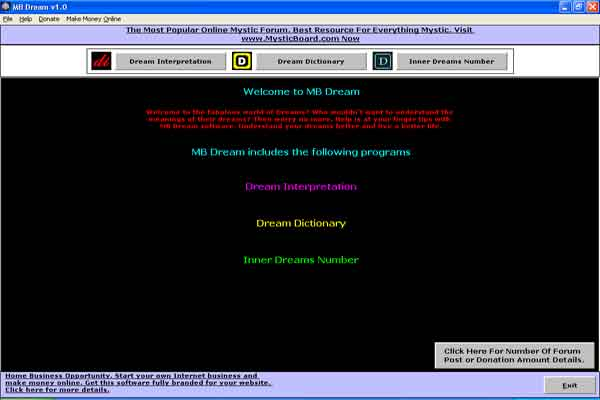 Click to view MB Dream 1.15 screenshot